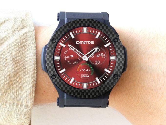 la montre rise de chez Omate