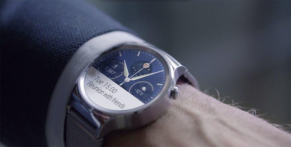 la montre de chez Huawei