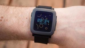 la montre connectée pebble