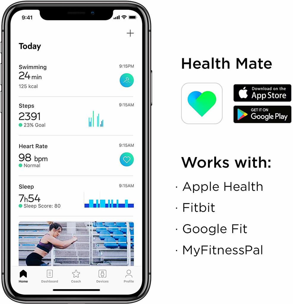 withings pulse HR avis test